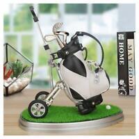 Office Desk Golf Bag Pen Pencil Holder for Men Golfer Fans Gift Wholesale