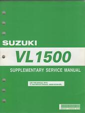 2005 SUZUKI MOTORCYCLE VL1500 P/N 99501-39550-03E SERVICE MANUAL SUPPLEMENT(423)