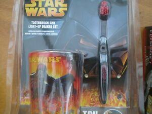 Star Wars Toothbrush & Light-up beaker set still sealed