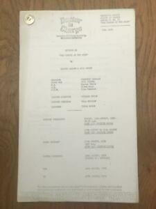 Richard Gordon 1972 London Weekend Television Script for Doctor in Charge Ep 21