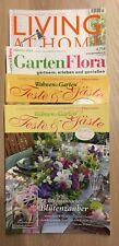 4 diverse Zeitschriften Wohnen & Garten aus 2020 !!!