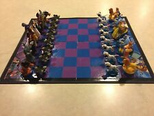 DISNEY CHESS Collector's Edition Heroes & Villains Figurines Box Set