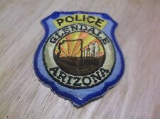CR16) Glendale Arizona Police Patch