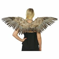 """Feathered Wings Feather Angel Mocking Sexy Bird Adult Halloween Costume 48"""""""