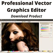 PROFESSIONAL VECTOR GRAPHIC EDITOR Full Windows Software
