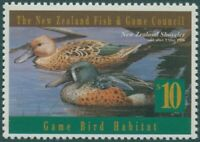 NZ Fish and Game Council 1996 $10 Shoveler MNH