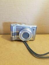 Panasonic LUMIX DMC-LZ5  6.0MP Digital Camera Video Silver  LCD TESTED WORKS