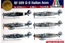 ITALERI 2719 1/48 Messerschmitt Bf 109G-6 Italian Aces