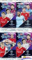 (4) 2018/19 Topps Champions League CRYSTAL Sealed HOBBY PACKS-JADON SANCHO RC YR