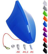Auto Dach Antenne Hai SHARK Haifisch Sharkfin Haiantenne Universal Blau AT7028bl