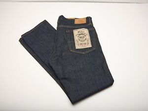 Polo Ralph Lauren Jeans NWT 35x32 Varick Slim Straight