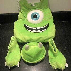 Disney Pixar Monster Inc MIKE WAZOWSKI  Costume Infant 6-9 Months EXCELLENT