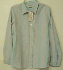 NEW size XLG Blair colorful striped SHIRT cotton long sleeves XL