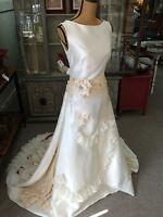 Vintage Bridal Gown Wedding Dress Handmade Metropolitan Bride Magazine USA