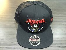 New Era Cap Hat Marvel Rock Headpool Snapback Adjustable 9fifty One Size Fits