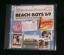 Beach Boys '69 Live In London Cd - Capital Records - Rare