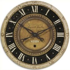 Uttermost Oversized 27 Auguste Verdier Wall Clock 06028