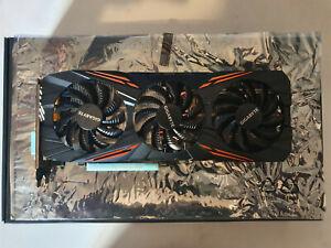 Gigabyte GeForce GTX 1080 G1 Gaming RGB 8192MB GDDR5X PCI-Express Graphics Card