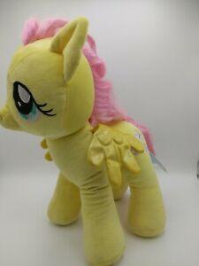 "Build A Bear My Little Pony Fluttershy 17"" Plush Yellow Pegasus"