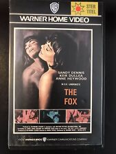 The Fox Ex-Rental Vintage Big Box VHS Tape English with dutch subs