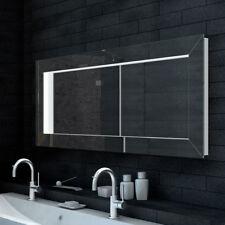 LED Wandspiegel Bad Spiegel mit 3D Effekt Badezimmerspiegel 140x60cm LMA140X60