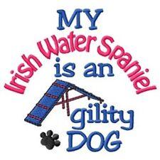 My Irish Water Spaniel is An Agility Dog Fleece Jacket - Dc1910L Size S - Xxl
