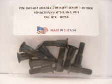 100 Pieces THFC-037 Insert Screw: GTS-3 .. SD-3 .. VR-3