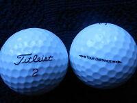"""20  TITLEIST  """"TOUR DISTANCE""""  Golf Balls -- """"A""""  Grade."""