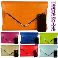 Large Leather Style Snakeskin Clutch Bag Evening Bag Snake Skin Handbag Purse