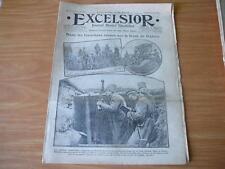 journal Excelsior 08 01 1917 Tranchées russes du front de Galicie guerre 14-18