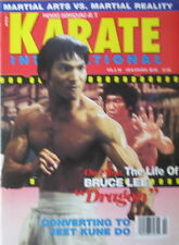 RARE 2/93 KARATE INTERNATIONAL JEET KUNE DO BRUCE LEE JASON SCOTT MARTIAL ARTS