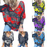 Women Camouflage T Shirt V Neck Short Sleeve Camo Tee Summer Baggy Casual Tops