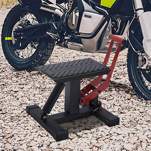Universal Motorcycle Hydraulic Lift Stand Repair Table Bench Lift Jack Workshop