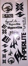 "8.5 X 3.5 "" Hyperlite Decal Sticker Sheet"