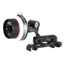 US JTZ DP30 Cinema Follow Focus 15mm/19mm Support Rod System For FS700 BMCC A7M2
