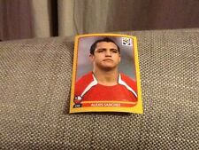 #634 Alexis Sanchez Chile Panini World Cup 2010 GOLD SWISS EDITION sticker