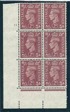 Sg 506h Q12h 2d Pale Red-Brown with 'missing Jewel' variety UNMOUNTED MNT