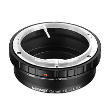 Neewer Canon FD and FL Mount Lens to Sony NEX E-Mount Camera Mount Adaptor MT@9