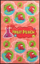 Dr. Stinky's Scratch & Sniff Stickers - Fruit Punch - Mint Condition!!