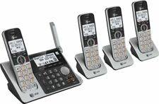 AT&T 4-Handset DECT 6.0 Cordless Phone with Answering System Dual Caller ID/Call