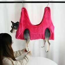 Us Pet Dog Cat Grooming Hammock Bag Fleece Restraint Bag Bathing Trimming Helper