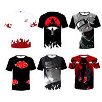 Anime Uzumaki Naruto0 Kakashi Women Men Funny Fashion 3D Print T-Shirts Tee Tops