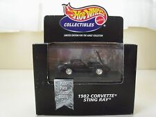 HOT WHEELS COLLECTIBLES - 1982 CHEVROLET CORVETTE STING RAY - 1/64 DIECAST