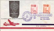 Malaria Paludisme 1962 fdc Dominican Rep.