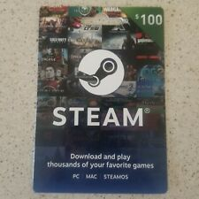 Valve STEAM Gaming Gift Card $100