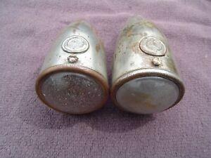 VINTAGE LUCAS 1130 SIDELIGHTS LAMPS VSCC