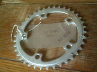 38 TOOTH   COMPACT   110 BCD 9 SPEED  CHAINRING