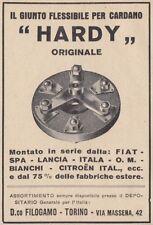 Z3542 Giunto per cardano HARDY - Pubblicità d'epoca - 1929 vintage advertising