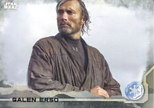 Star Wars Rogue One Gray Parallel Base Card #38 Galen Erso