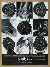 1996 Bell & Ross Space One GMT Diver Classic & Military Chrono vintage print Ad
